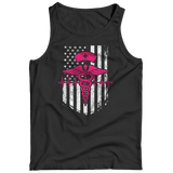 Limited Edition - Nurse Flag Pink Symbol - Tank Top