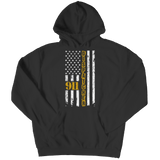 Limited Edition - 911 dispatcher flag Hoodie