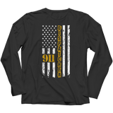 Limited Edition - 911 dispatcher flag Long Sleeve