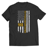 Limited Edition - 911 dispatcher flag T Shirt