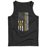 Limited Edition - 911 dispatcher flag Tank Top