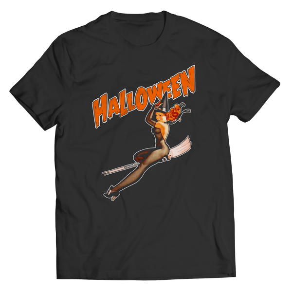 Vintage Halloween - T-Shirt BLACK