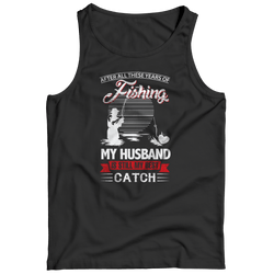 My Husband is Still My Best Catch - Tank - Black