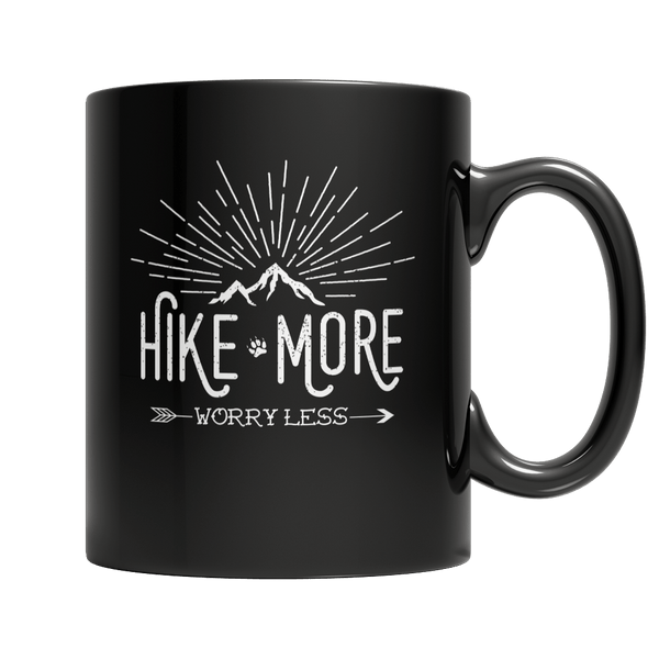 Hike More Worry Less - Mug