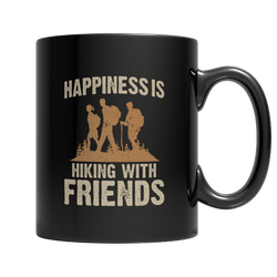 Happiness Is Hiking With Friends Mug
