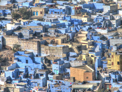 The city of blue in Jodhpur