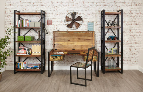 Rustic Industrial home office