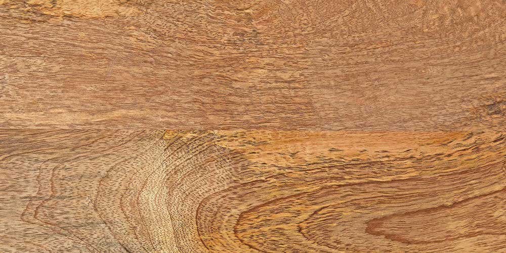 Typical mango wood grain found in furniture
