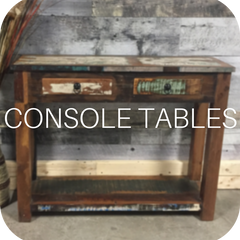 Shop our solid wood console tables