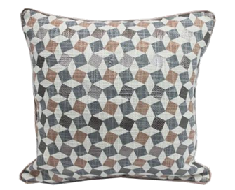 3D print pillow with piping 18 x 18 - $28.99