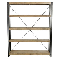 mango wood large bookcase