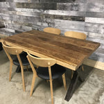 63 Wright Rough mango industrial dining table