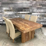 78 Chunky Sheesham Dining Table