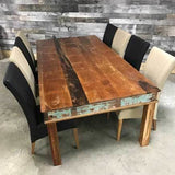 96 Rustic Reclaimed wood dining table - $1199.00