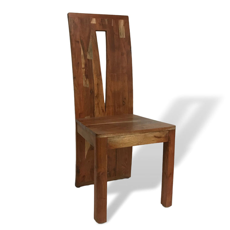 Massif acacia wood dining chair