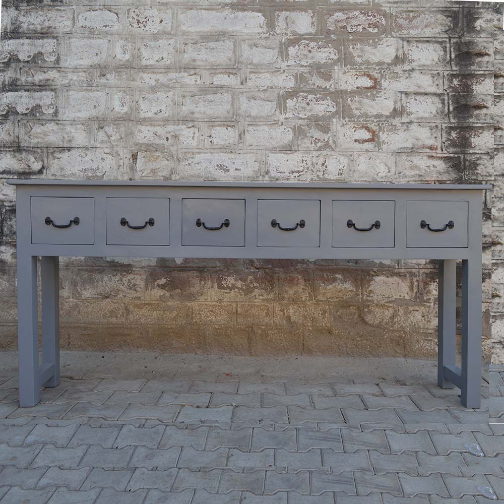 Table console Lunenburg 5 tiroir