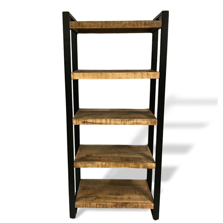 mango wood bookcase
