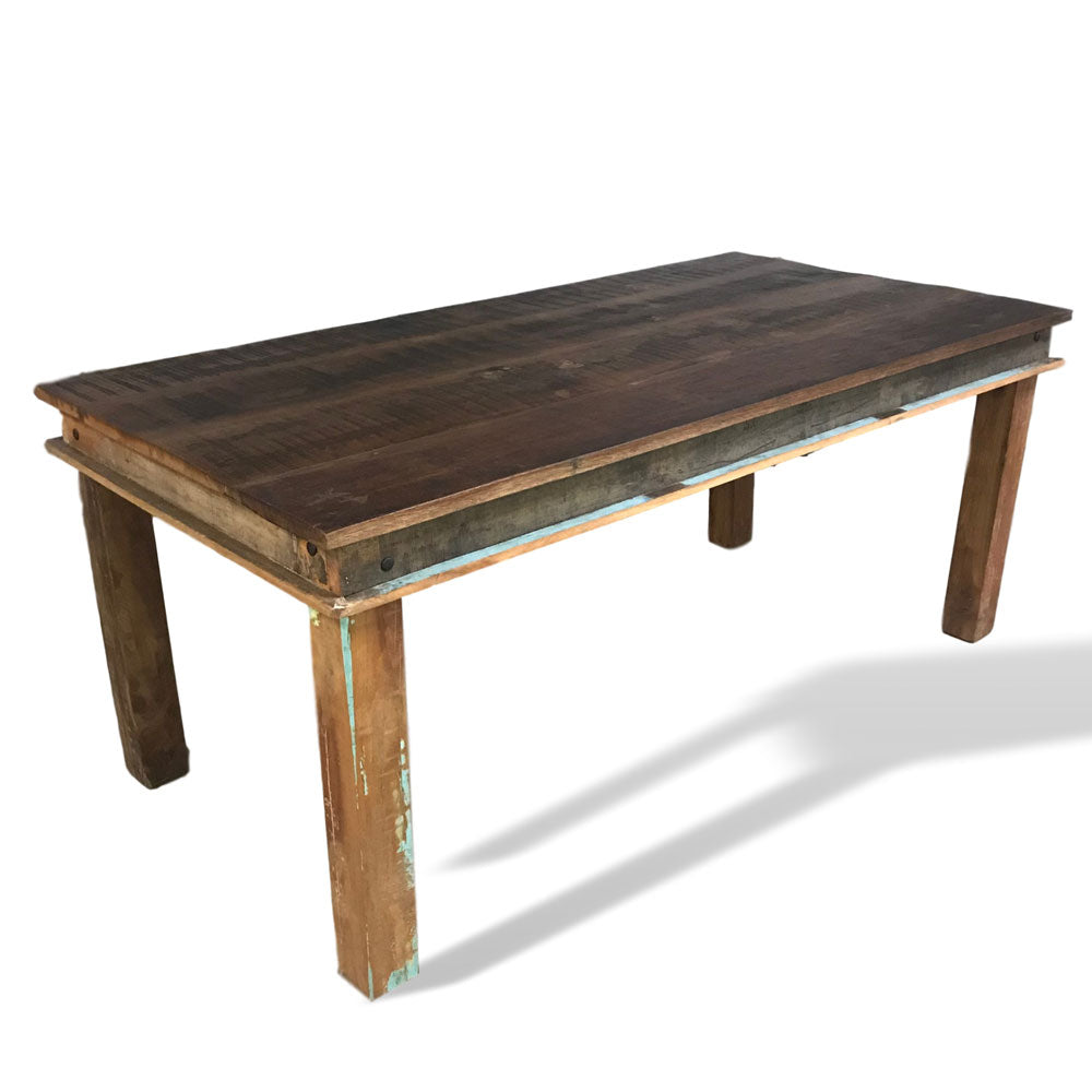 solid wood dining table for up to 8 people