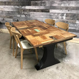 72 Tukra reclaimed wood dining table - $599.00
