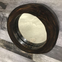 Assorted round wooden small wall mirror - $79.00