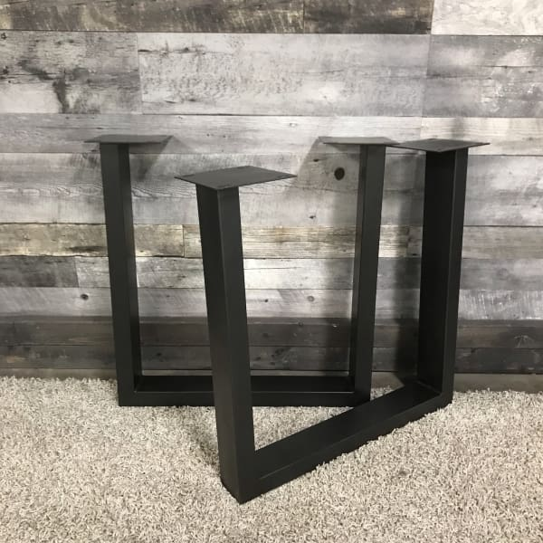 CHARCOAL U INDUSTRIAL TABLE LEGS (set of 2) - $299.00