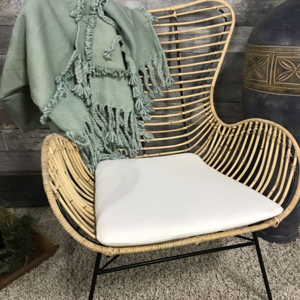 Devlin rattan lounge chair - $199.00