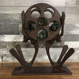 FUNKY TRIBAL WINE BOTTLE HOLDER DECOR - $159.00