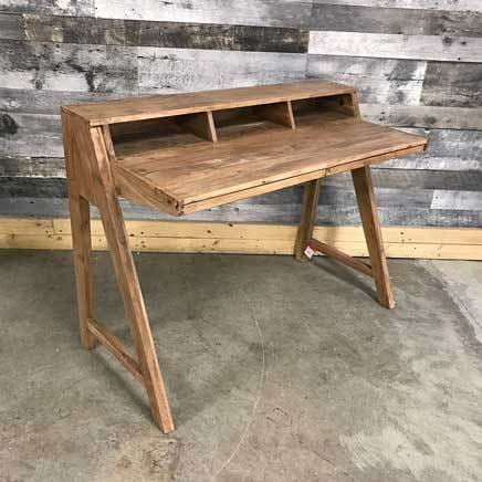 solid wood Acacia Writing Desk