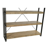 mango wood shelves