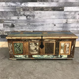 Large Rustic Reclaimed wood trunk