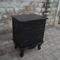 Lunenburg Vintage 3 Drawer Nightstand
