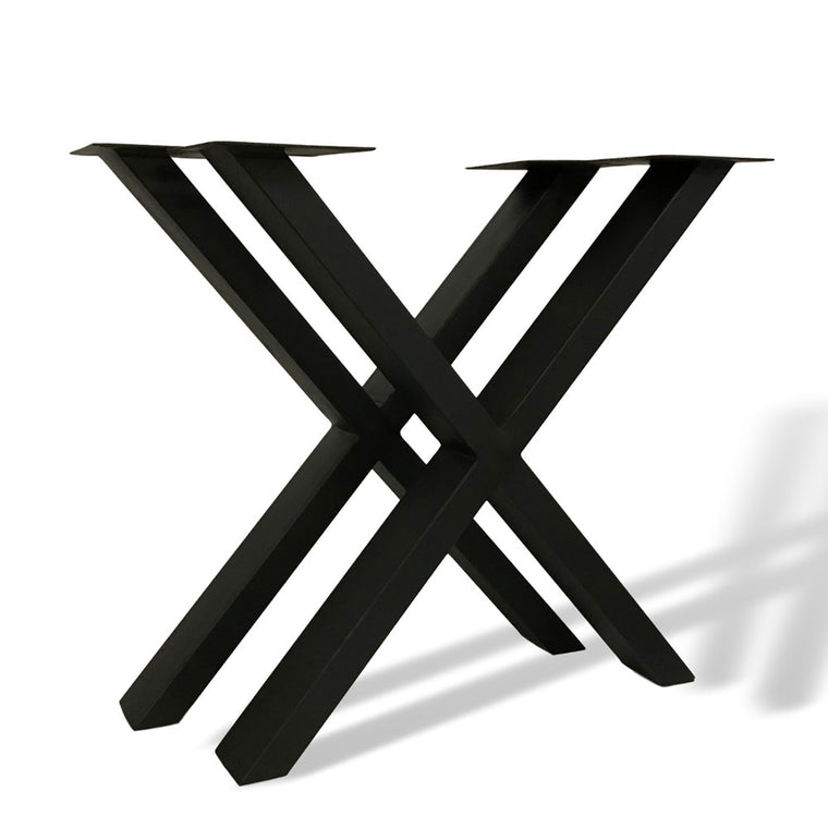 DYI dining table metal legs x format