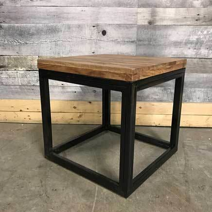 Natuna Sheesham Square End Table - $249.00