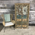 RIVERSIDE 8 DRAWER AND 2 DOOR RUSTIC ARMOIRE - $1199.00
