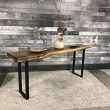 SANDER SUAR INDUSTRIAL CONSOLE TABLE - $749.00