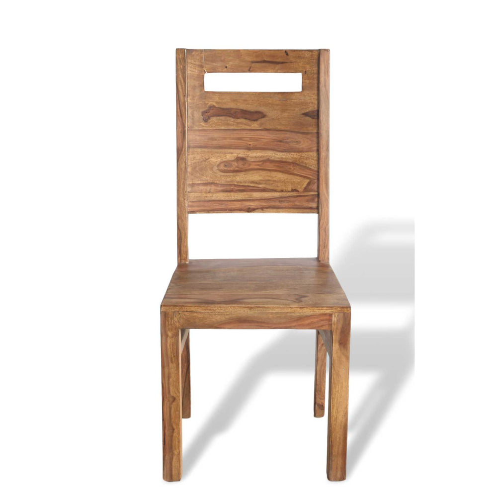 Natuna Sheesham wood Dining Chair with handle