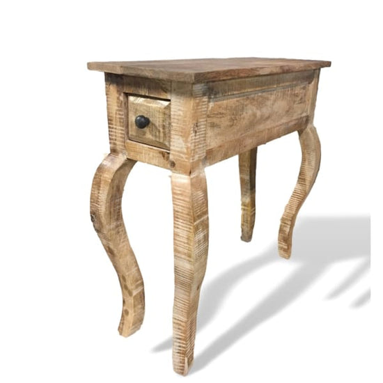 Tennessee Wooden Narrow End Table Rustic Furniture Outlet