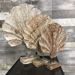 White Wash Wooden Deco on Stand S - $59.99