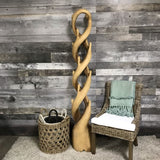 Wooden twist Deco Hanger Stand - $399.00