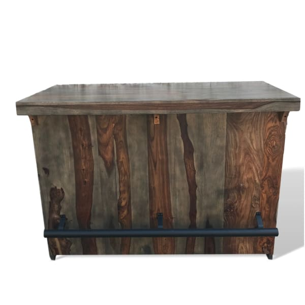 Rosewood Basement Industrial Home Bar Kitchen Island Entrepot De
