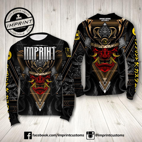 Imprint Customs - Yukimura Samurai Riding Jersey