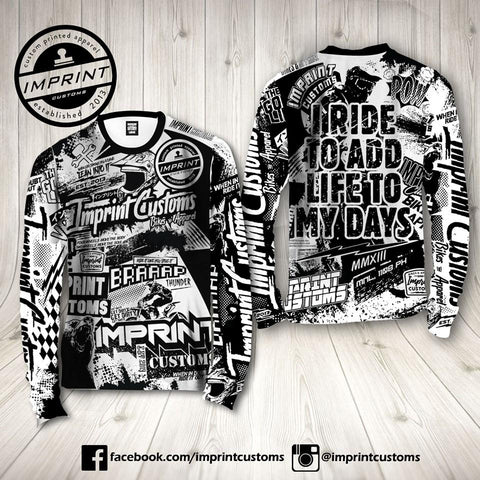 Imprint Customs - GoodLife Riding Jersey