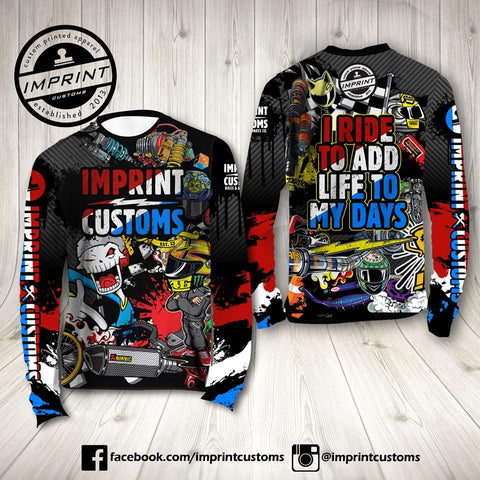 Imprint Customs - Thai Riding Jersey