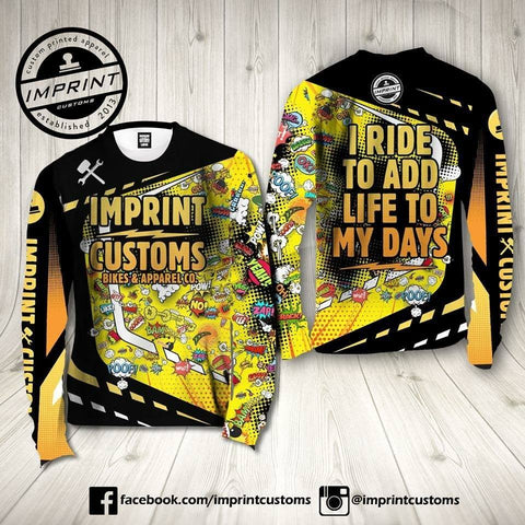 Imprint Customs - Comic Riding Jersey
