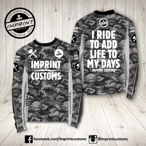 Imprint Customs - LightCamo Riding Jersey