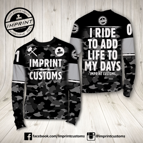 Imprint Customs - DarkCamo Riding Jersey