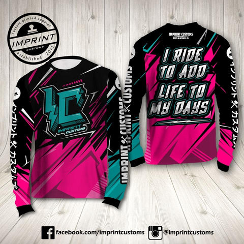 Imprint Customs - FX Fusion Riding Jersey