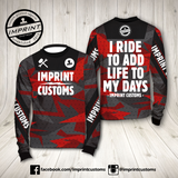 Imprint Customs - RedCamo Riding Jersey
