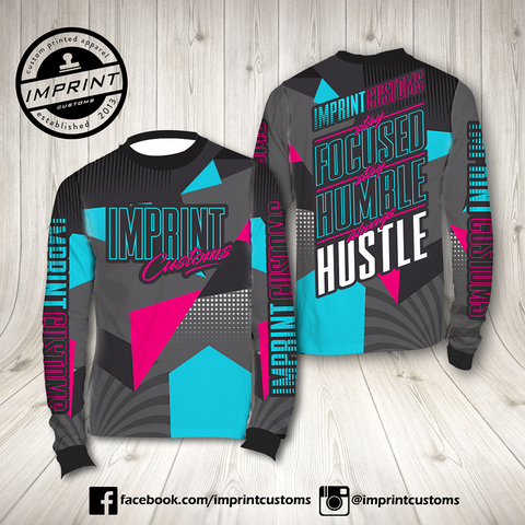 Imprint Customs - Miami Vice Riding Jersey