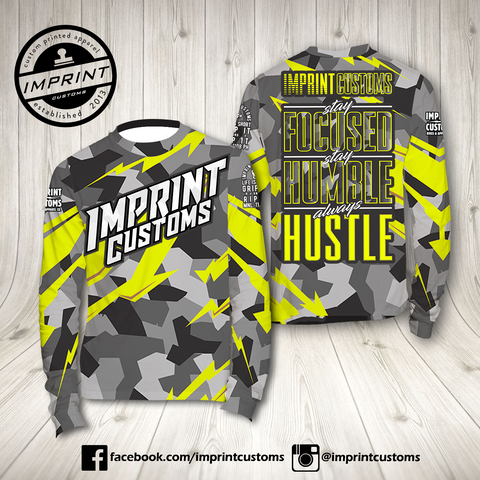 Imprint Customs - Neon Camo Riding Jersey
